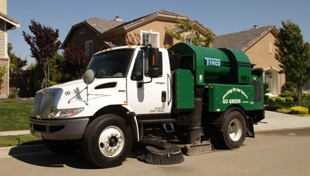 Contract Sweeping Services Truck sweepers